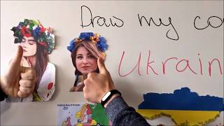 Draw my country. Ukraine