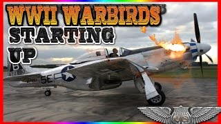 World War II Warplanes Starting and Sound Compilation   Awesome Sound!