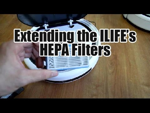Some Tips In Extending the Life of the ILIFE HEPA Filter