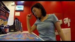 Fon at Domino's Pizza Bangkok Thailand