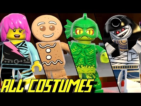 LEGO Worlds - All Characters (EVERY PLAYABLE COSTUME UNLOCKED)