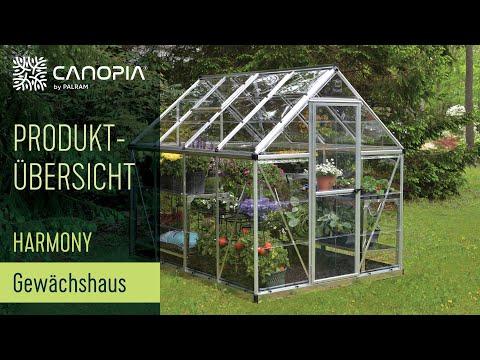 Mega Palram Harmony Gewächshaus (DE) - YouTube FW63