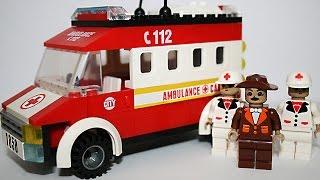 Мультфильм Конструктор LEGO: Скорая помощь - Ambulance