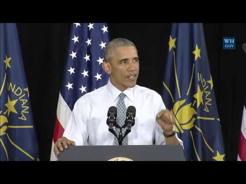 Obama in Elkhart, Indiana - Full Speech