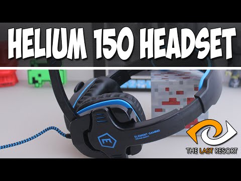 Element Gaming Helium 150 Gaming Headset | TLR Review