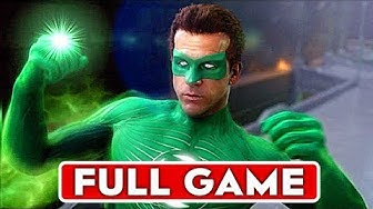 GREEN LANTERN RISE OF THE MANHUNTERS Gameplay Walkthrough Part 1 FULL GAME [1080p HD] No Commentary