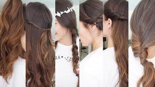 Peinados fáciles y rápidos VERANO 2016 | Pretty and Olé