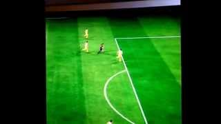 FIFA 15 demo | Barcelona| Messi| Skill. Song is Radioactive by Imagine Dragons. Not my song.