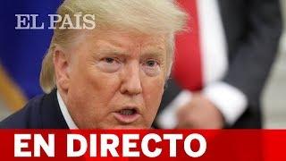 DIRECTO TRUMP | El Presidente de los ESTADOS UNIDOS hace una declaración sobre la situación con Irán