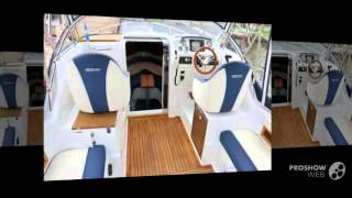 Aqualine 750 cruiser modell 2015 power boat, cabin boat year - 2015