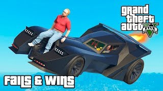 GTA 5 FAILS & WINS #4 (Best GTA V Funny Moments Compilation)