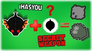 BEST SECRET WEAPON TROLLING!! NO ESCAPE - COLOSSAL VS ENTIRE SERVER!! // MOPE.IO !! - iHASYOU