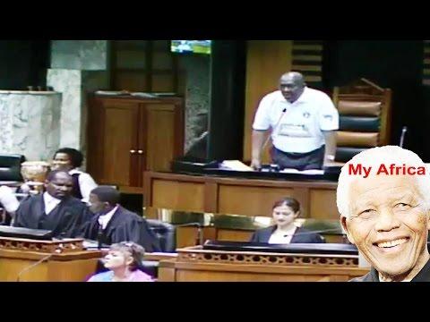 """Deputy Speaker Lechesa Tsenoli told MPs  """"You Are A Disgrace""""."""