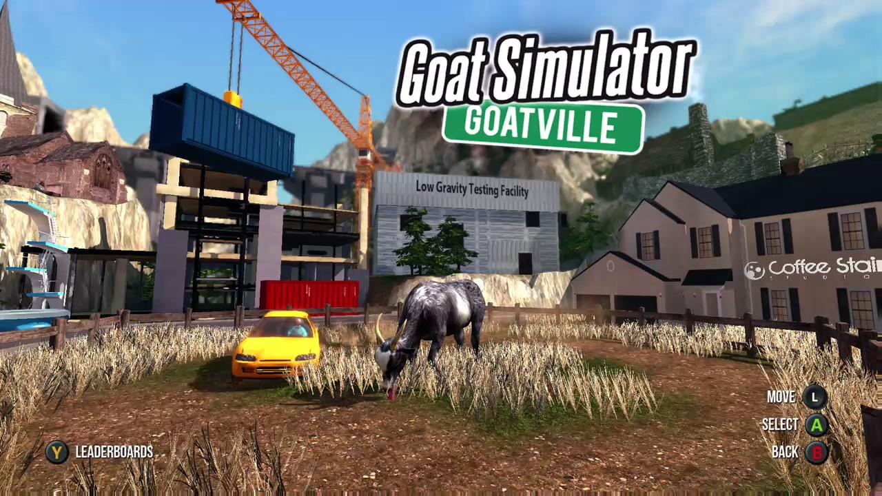 Goat Simulator: All Maps