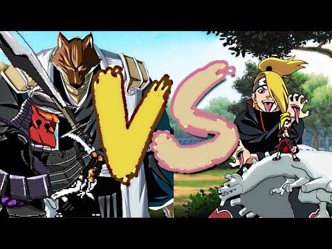 Komamura vs Deidara