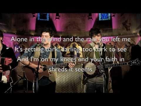 """Thistle & Weeds"" - Mumford & Sons (Official Lyrics)"