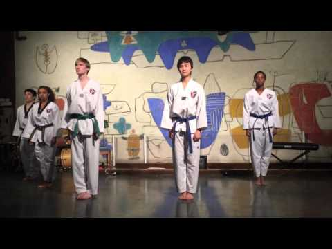 HKA Culture Show 2016: Harvard Taekwondo Demonstration