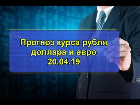 Прогноз курса рубля доллара и евро.