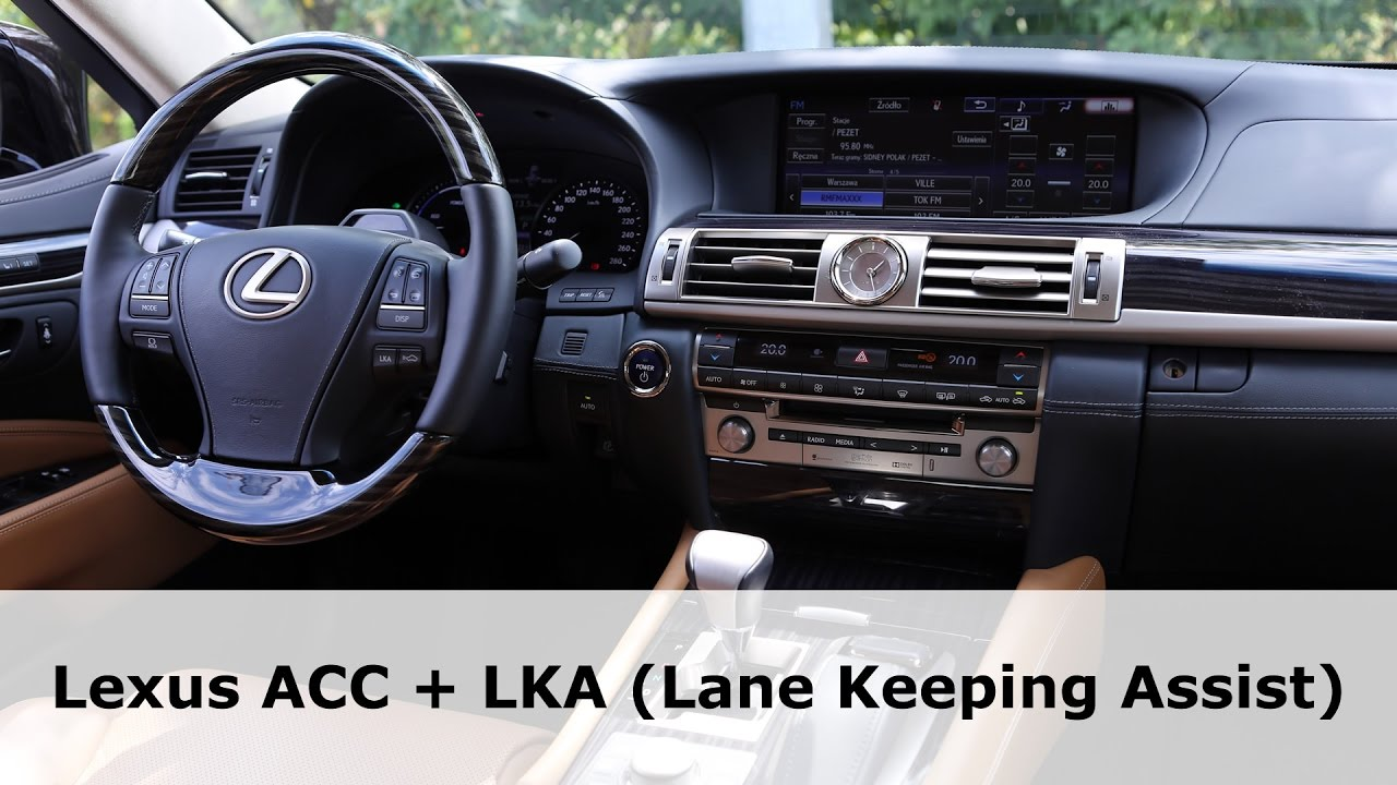 Lexus Ls 600h L Lka Lane Keeping Ist And Acc Adaptive Cruise Control In City 1001cars
