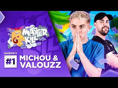 NOUVELLE SAISON MASTERKILL AVEC MICHOU & VALOUZZ SUR FORTNITE !