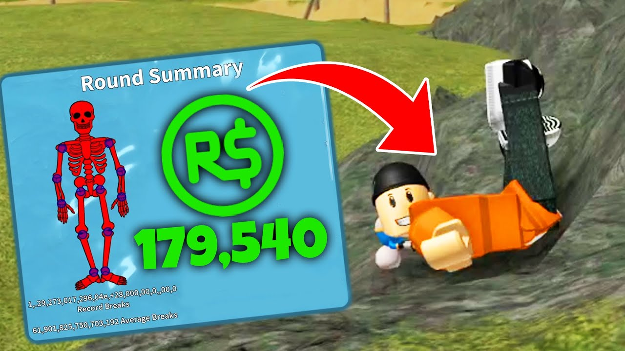 Download I Spent More ROBUX THAN ANYONE ELSE In Roblox Broken Bones (and broke the game...)