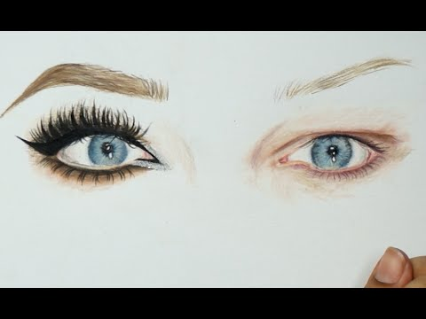 Power of makeup inspired drawing nikkietutorials eyes power of makeup inspired drawing nikkietutorials eyes timelapse ccuart Images