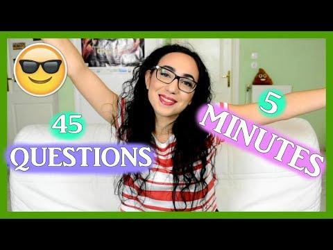 Απαντάω σε 45 Ερωτήσεις σε 5 λεπτά!
