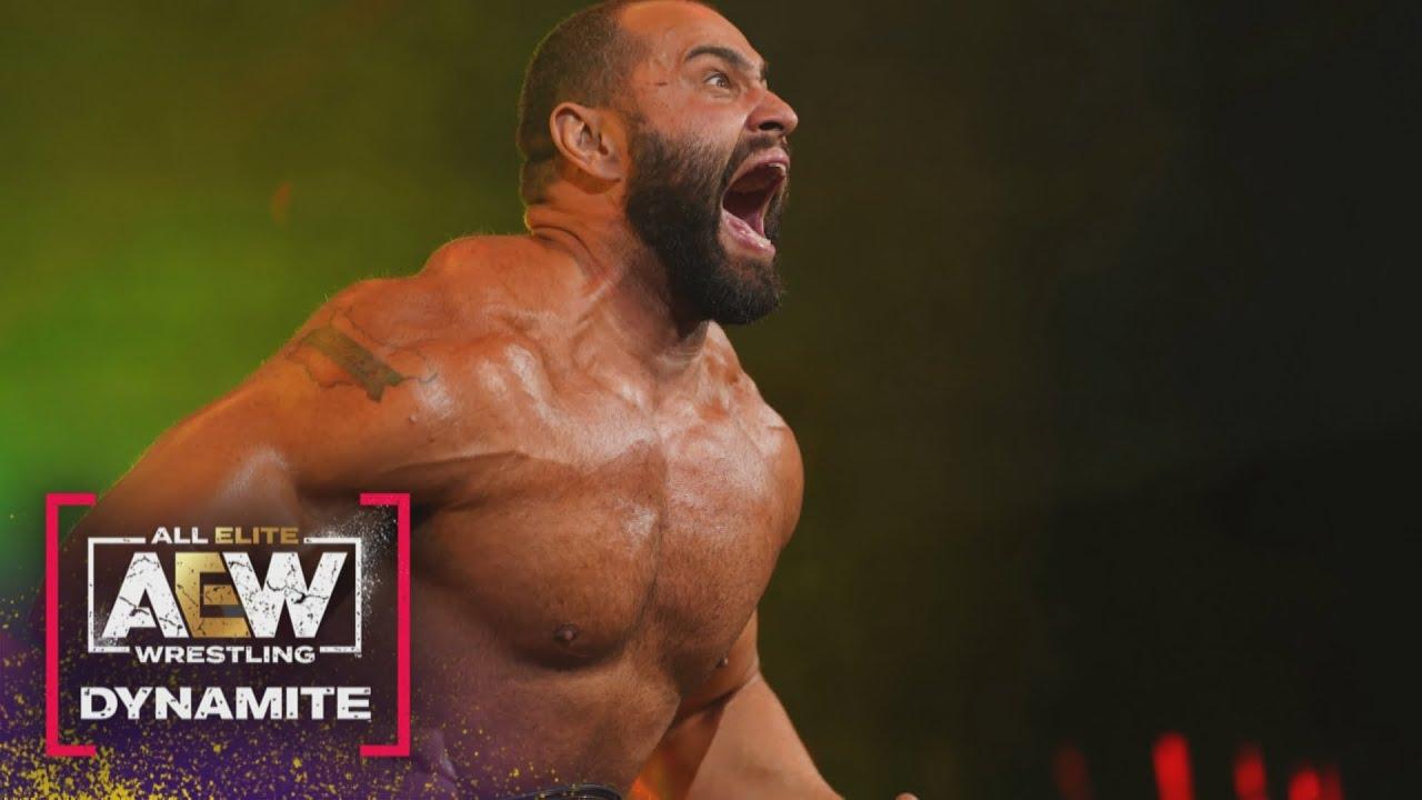 AEW's TNT Champion, Miro