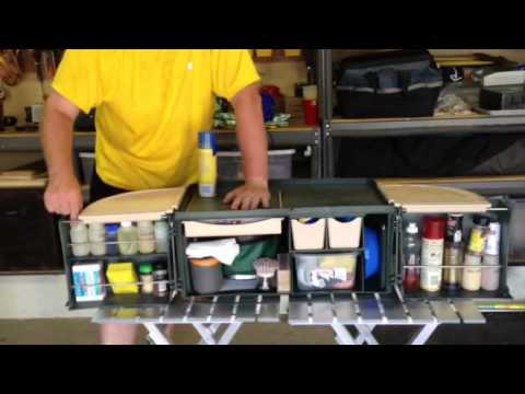 ultimate portable camp kitchen - youtube