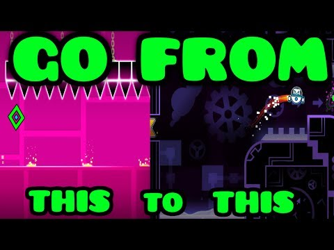 HOW TO GET GOOD AT GEOMETRY DASH