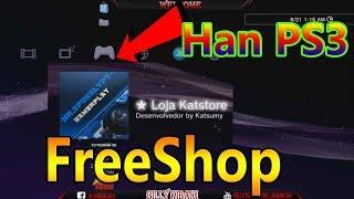 Loja Katstore V0.9 FreeShop ( Han PS3 )