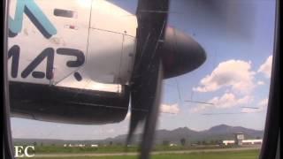 Aeromar ATR42 Take Off Tepic,Nayarit