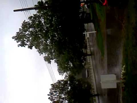 El huracan en saratoga NY