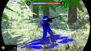 Mistrz snajperek atakuje! RAVENFIELD MULTIPLAYER MOD! Pixelowy Battlefield Po Polsku! #01