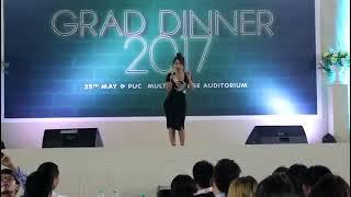 Ruatfeli Triau Trackx  - Lungtat Par PUC Grad Dinner 2017