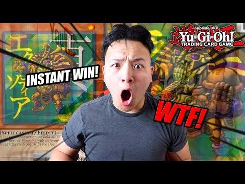 THE NEW YUGIOH INSTANT WIN! TRUE EXODIA FTK DECK IN ACTION!!!