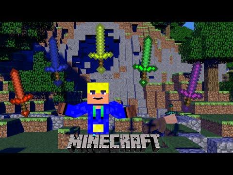 Обзор мода Minecraft:Cyan Warrior Swords таких мечей вы ещё не видели