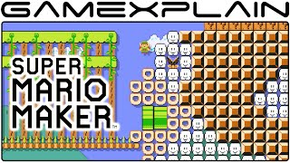 Inside Lord Cheep Cheep's Belly - Super Mario Maker Level Showcase (Zelda)