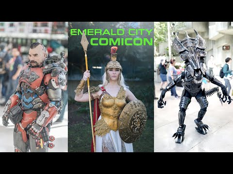 Emerald City Comic Con 2019 Cosplay Music Video ECCC