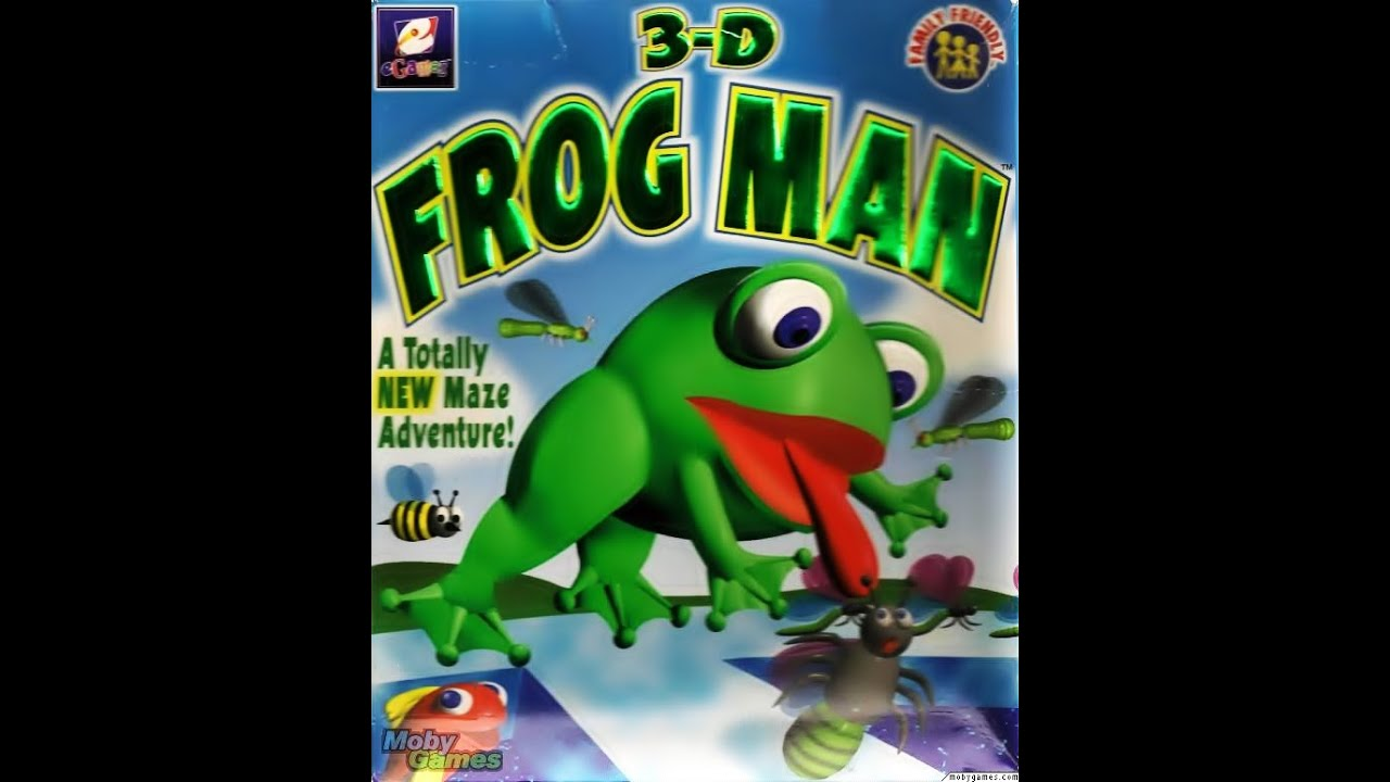 100 Images of 3D Frog Man Game