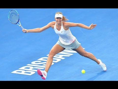 2015 Brisbane International Quarterfinal WTA Highlights