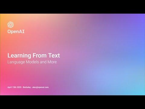 L11 Language Models -- Guest Instructor: Alec Radford (OpenAI) --- Deep Unsupervised Learning SP20