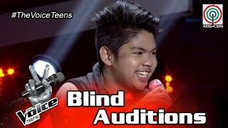 The Voice Teens Philippines Blind Audition: Clark Gamul - Hataw Na