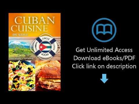 """Cuban Cuisine """"Ahi Nama"""" Best Recipes of the Islands - Caribbean Circle Cookbooks (Organic Caribbean"""