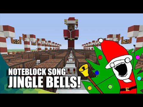 Minecraft Note Block: Jingle Bells! (HAPPY HOLIDAYS!!!)