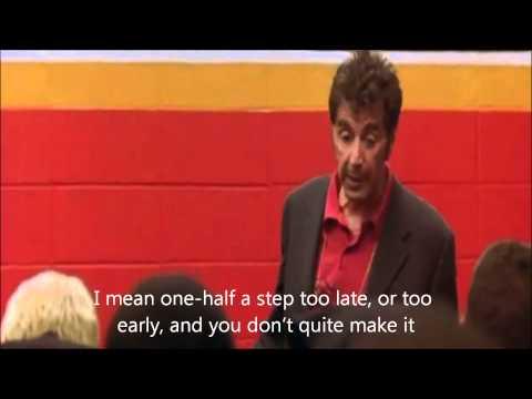 Alpacino - Best football speech ever (subtitles)