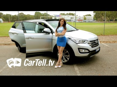 2015 Hyundai Santa Fe Highlander Review