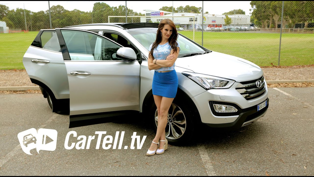2015 Hyundai Santa Fe Highlander Review Youtube