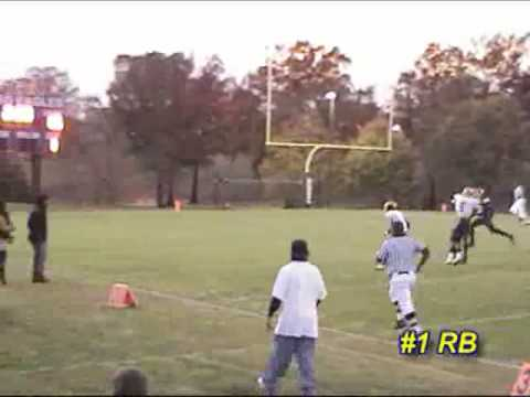 Alexander Fletcher 2008 Season Football Highlights RB / WR / CB / KR for Riverdale Baptist Football