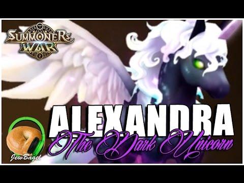 SUMMONERS WAR : Alexandra the Dark Unicorn - Gameplay Spotlight & Arena